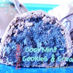 Cool Mint Cookies & Cream Truffles