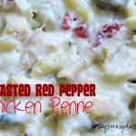 Roasted Red Pepper Chicken Penne