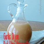 Garlic Dijon Red Wine Vinaigrette