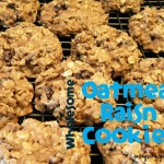 Wholesome Oatmeal Raisin Cookies