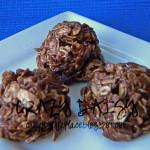 Choc-oat-nut Refrigerator Cookies (No Bake Cookies)