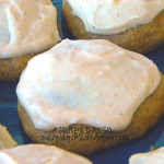 Soft Pumpkin Cookies with Pumpkin Spice Cream Cheese Frosting