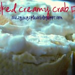 Baked Creamy Crab Dip