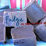 Fudge – The Easiest You Will Ever Love {Two Ingredients}