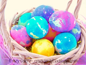 Would You Like To Make Speckled Easter Eggs? {Tutorial No. 1}