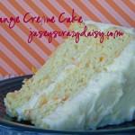 Orange Creme Cake