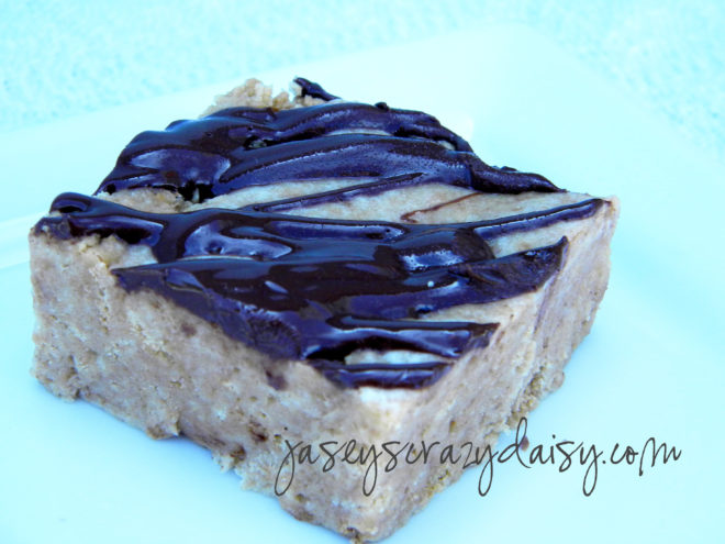 Chewy Chocolate Drizzled NutterButter Bars {No Bake} - Jasey's Crazy ...