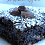 Chocolate Chunk Zucchini Brownies {with a gluten free recipe option}