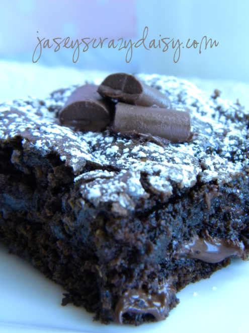 Chocolate Chunk Zucchini Brownies {with a gluten free recipe option ...