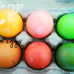 Southwestern Colored Easter Eggs {A very simple easy way to add a little more color and depth to your Easter eggs}