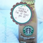 Thanks A Latte Teacher Appreciation Gift {Thank You Gift Idea For Just About Anyone With Free Printable}