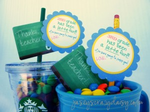 1st Grade Has Been A Latte Fun {Teacher Appreciation Gift}