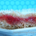 Almond Cherry Chip Cheesecake Bars