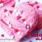 Cherry Fudge {Two Ingredients}