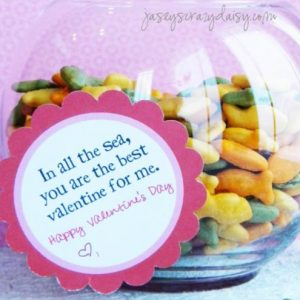 In All Of The Sea, You Are The Best Valentine For Me {Free Printable}