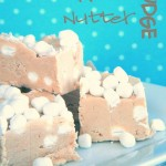 Fluffer Nutter Fudge {Three Ingredients}