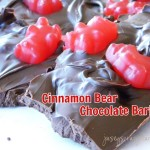 Cinnamon Bear Chocolate Bark {Just like chocolate covered cinnamon bears, only better!}