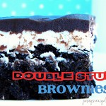 Double Stuff Cookies and Cream Brownies