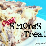 Chewy S'mores Bars (Anytime S'mores) – No Bake {and ***Giveaway*** for The S'mores Cookbook}