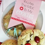 You Are The Milk to My Cookies Valentine Printable {Free}