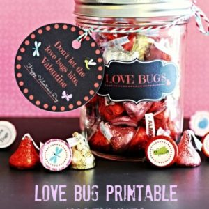 Love Bug Printable Valentine Kit