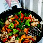 Chicken and Vegetable Stir Fry {& Irish Country Cooking Cookbook Giveaway}