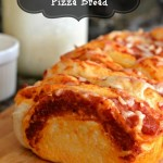 Pepperoni Pull Apart Pizza Bread (and Rhodes Prize Package Sweepstakes)