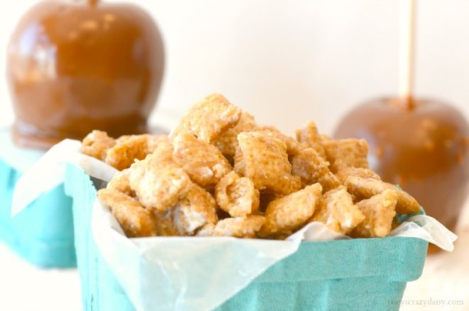Caramel Apple Chex Mix