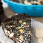 Cookies and Cream Magic Bar Pie (Dessert Mash-Up Cookbook)