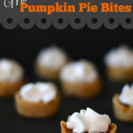 Mini Pumpkin Pie Bites