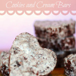 Red Velvet Cookies and Cream Bars (No Bake)