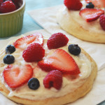 Cinnamon Roll Fruit Pizzas