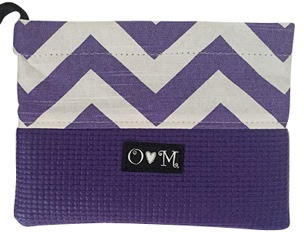 purple clutch