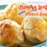 Creamy Seafood Stuffed Preztels